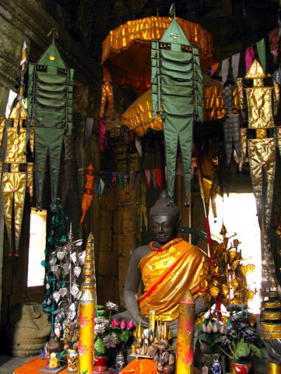 Зеленые человечки и Будда. Храм Banteay Kdei