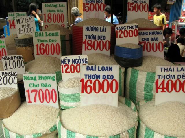 Почем рис в Сайгоне?