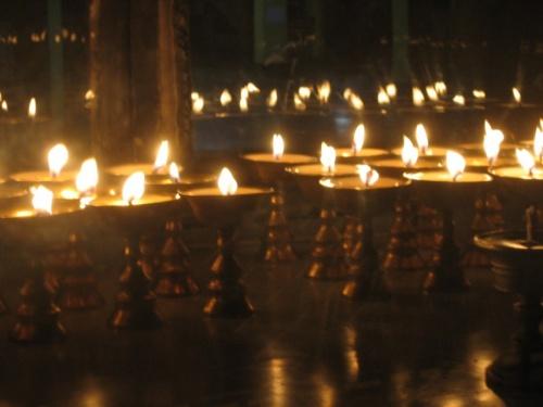 в резиденции Далай Ламы