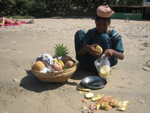 Торговка фруктами