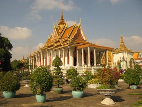Дворец в Пном Пене