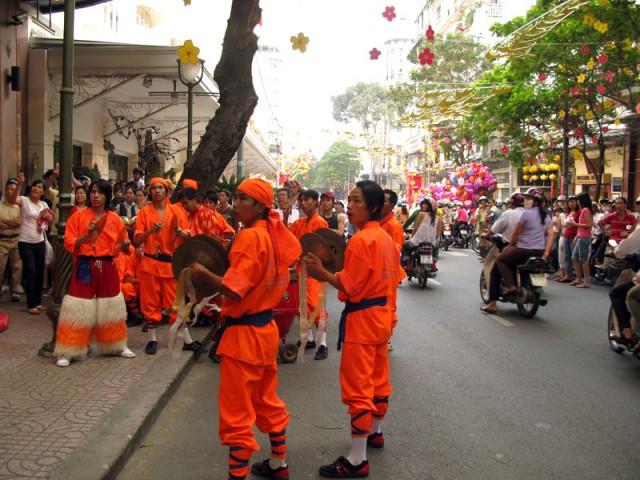 Уличный оркестр. Хо Ши Мин
