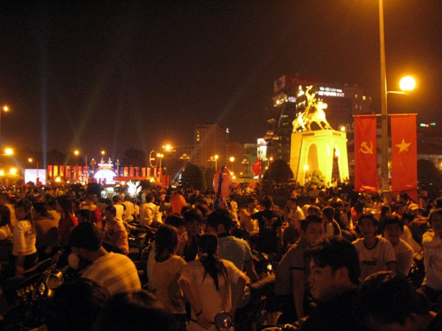 Новогодняя ночь в Сайгоне