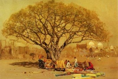 Павел ГРЕЧИШКИН Под старым деревом Дели. 1980