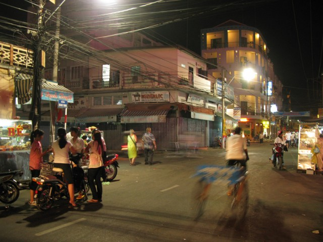 Чау Док, Дельта Меконга, Вьетнам
