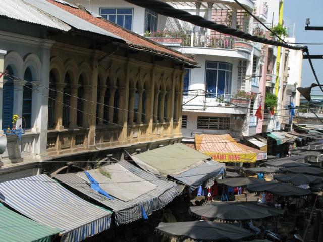 Вид с балкона нашей гостиницы