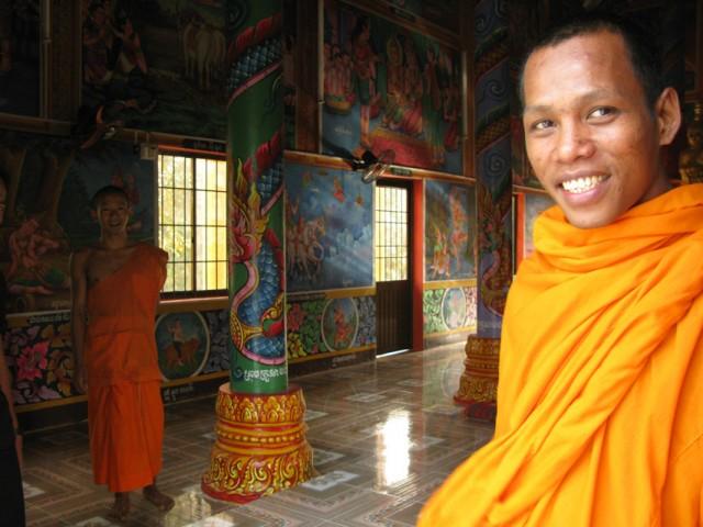 Монах-камбоджиец