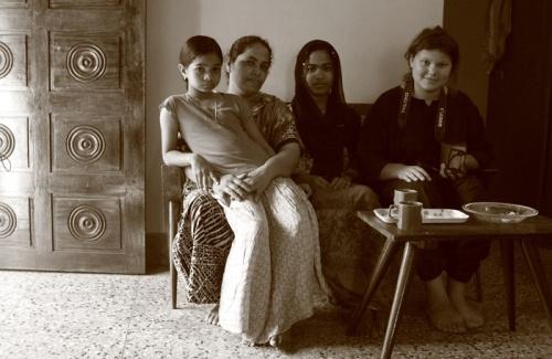 Семья и Гульнара.