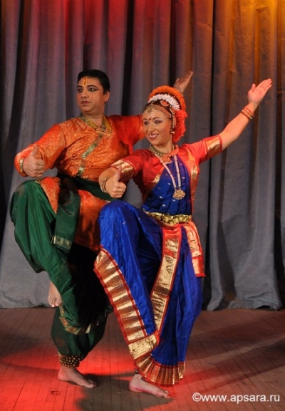 Kathak by Guru Ashwani Nigam, Kuchipudi, Indian fusion by Elena Tarasova, Apsara Dance Theatre