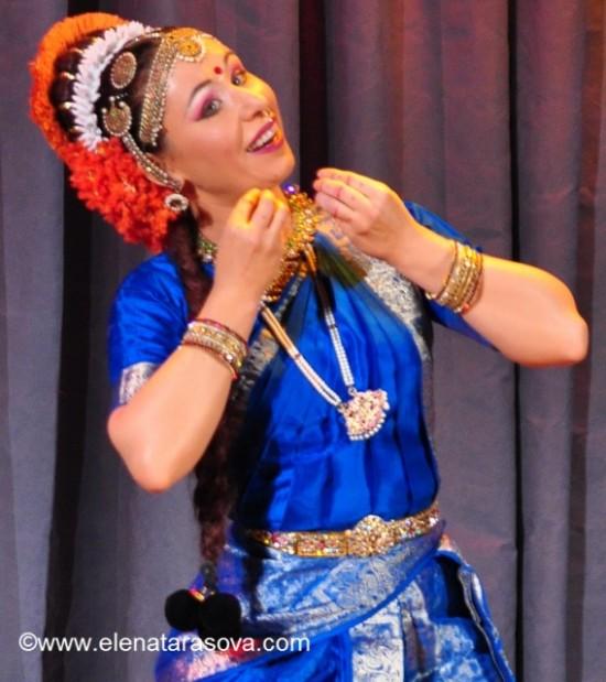 Kuchipudi, Indian fusion by Elena Tarasova, Apsara Dance Theatre