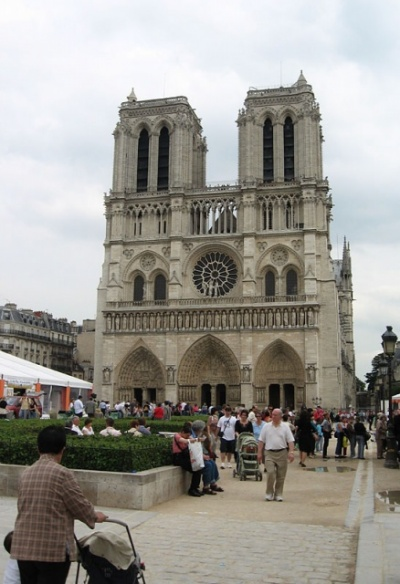 Notre Dame, фасад
