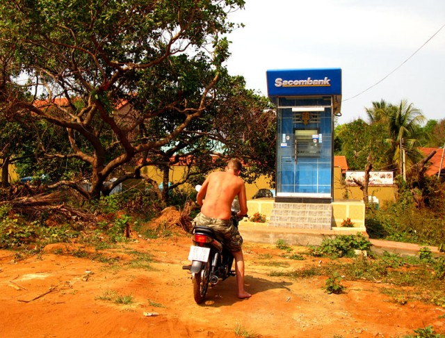 Тот самый банкомат-ориентир