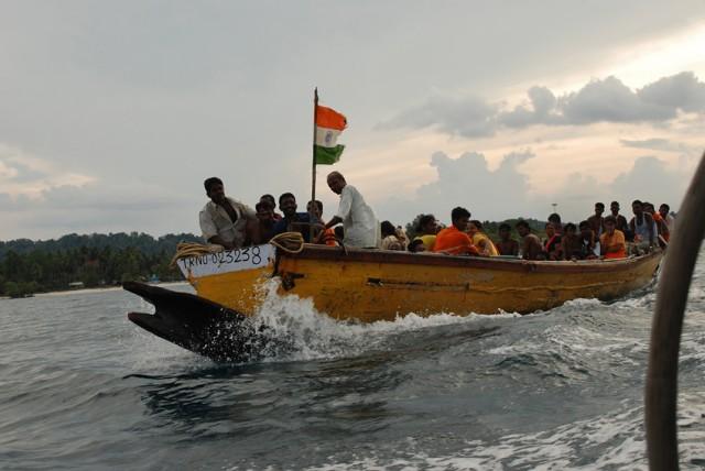 индийские турики...радуются как дети..