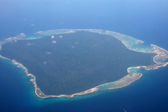 остров Сентинел...
