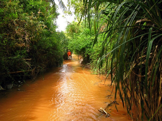 Речка Suoi Tien. Муй Не, Вьетнам