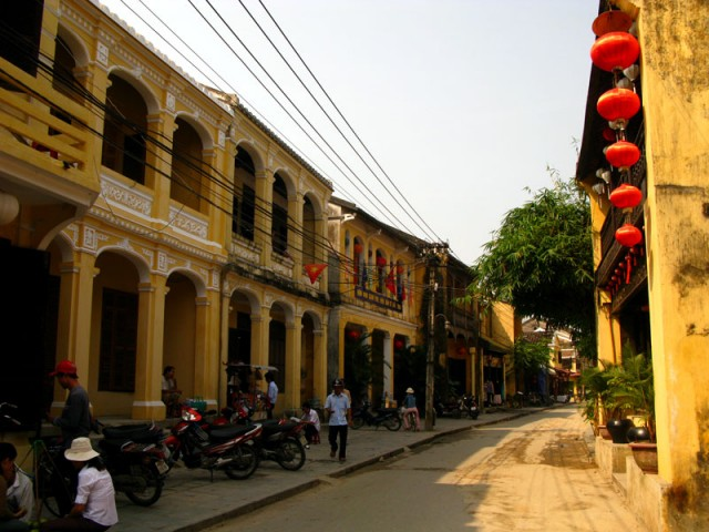 Улица в Хои Ане