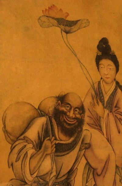 Персонажи с японской картины