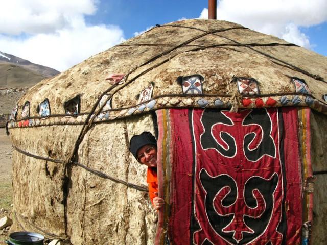 Юрта памирских киргизов