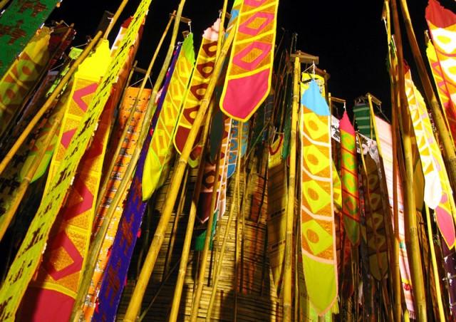 Новогодняя инсталляция в Таиланде, Чианг май