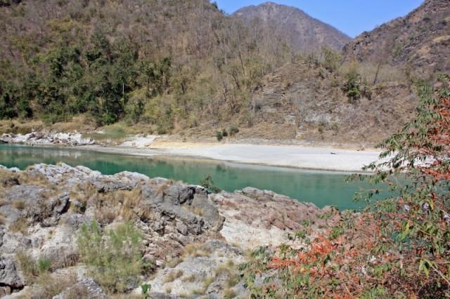 священная река