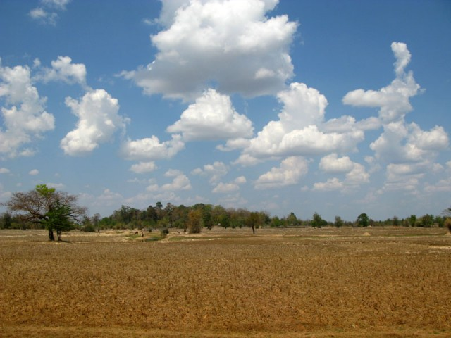 Лаосский пейзаж