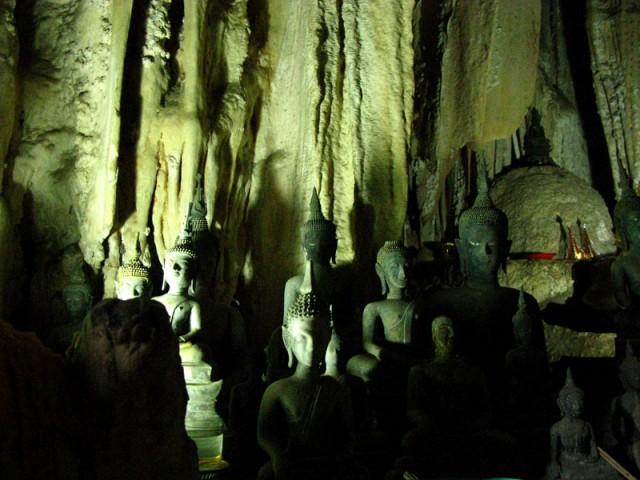 Пещера Будды. Лаос