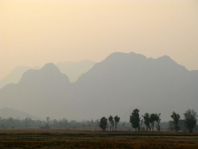 По дороге в На Хин