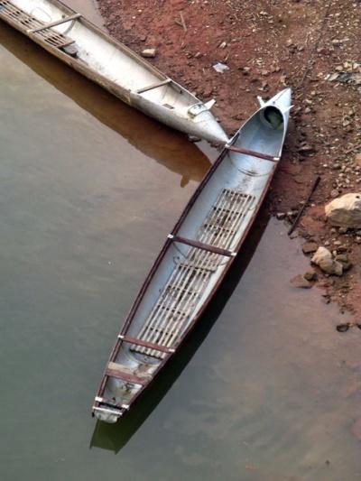 Лодки в деревне Та Бак