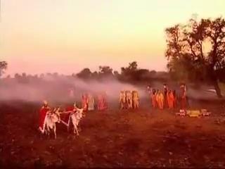 Моление о дожде. Царь Джанака прокладывает борозду