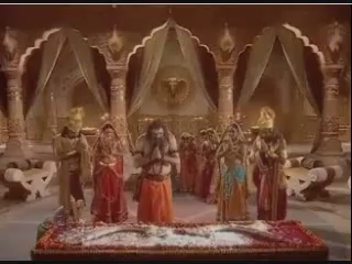 Парашурама поклоняется Дханушу