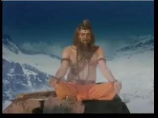 В Махендра Парвате медитирует Парашурама