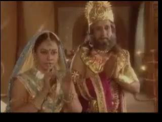 Джанак и Сунаяна приветствуют гостя
