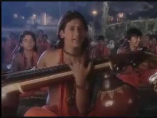 А тем временем в гурукуле (школе) Рама играет на вине