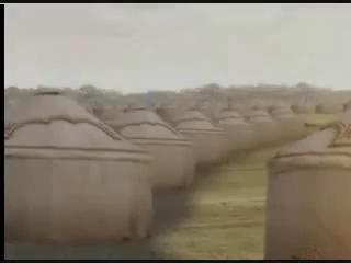 Вырос палаточный городок