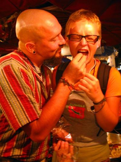 Любимая, съешь козявочку