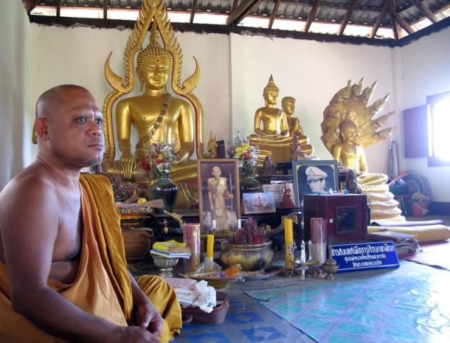 Монах, который был счастлив нас видеть
