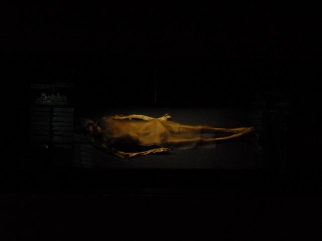 А это совсем кривая фотка мумии Госпожи Као.