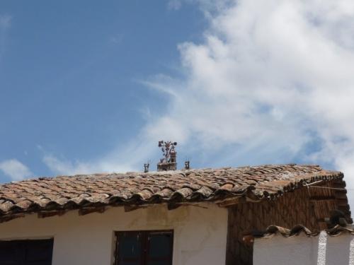 полюбуемся крышами