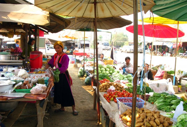 Рынок в Соппонге