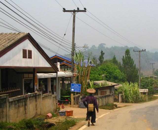 По дороге в китайскую деревню