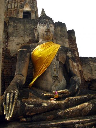 Будда в месте Чалианг