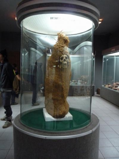 мумия аймара (особо чувствительным поаккуратней)
