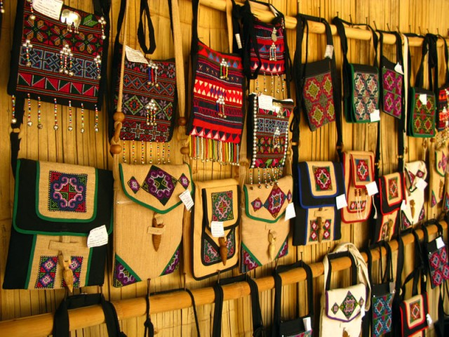 Сумочки в стиле акха