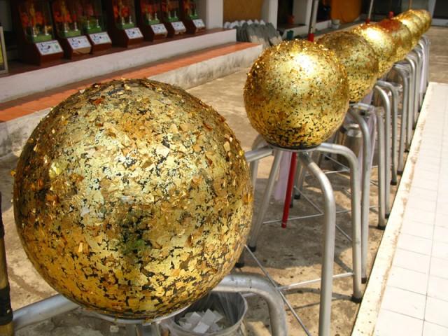 Золотые шары. Что бы это значило?