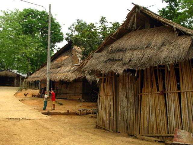 В местной деревне