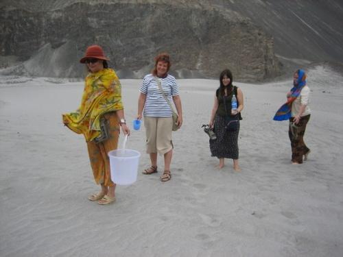 Пустыня. Ладак. Долина Нубра