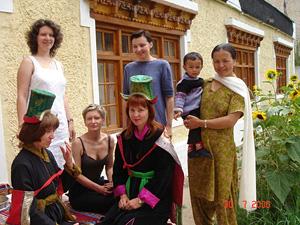 традиционные костюмы Ладака