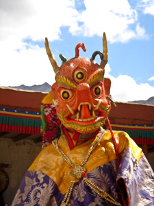 в монастыре Фьянг
