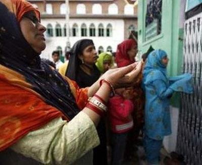 Масульманские женщины Кашмира