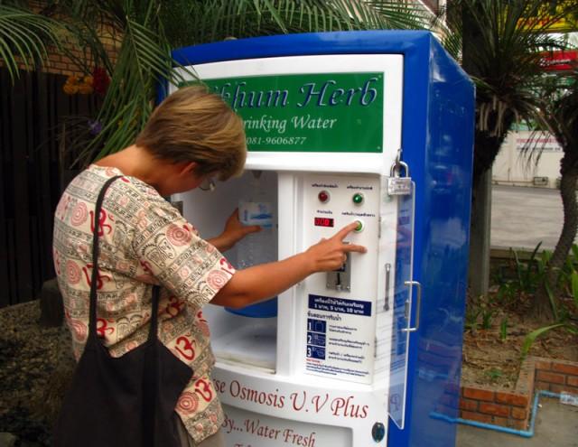 Питьевая вода в Чианг-Мае